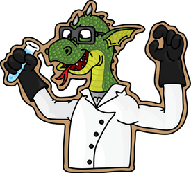 Reptilian scientist