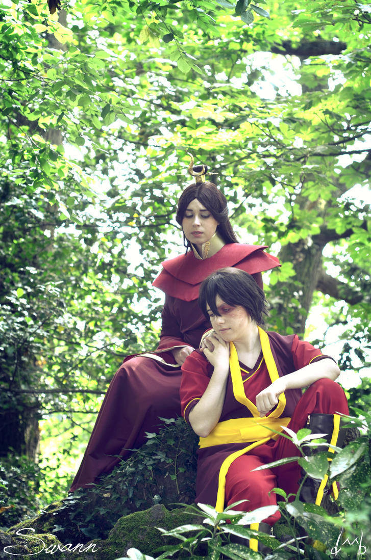 Mom and son by Harker-Cosplay