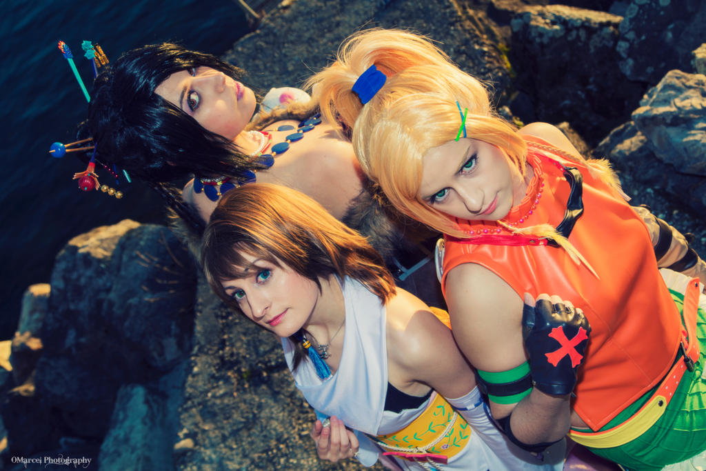 Final Fantasy X Girls by Harker-Cosplay