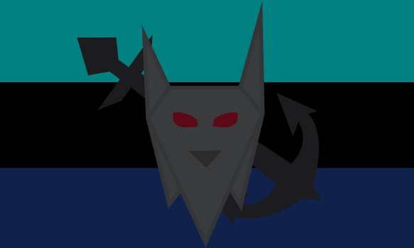Lobosias Flag-NAVY