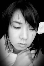 white blossom - geisha by chedax