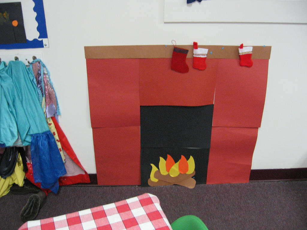 Paper Fireplace By Flood7585 On Deviantart