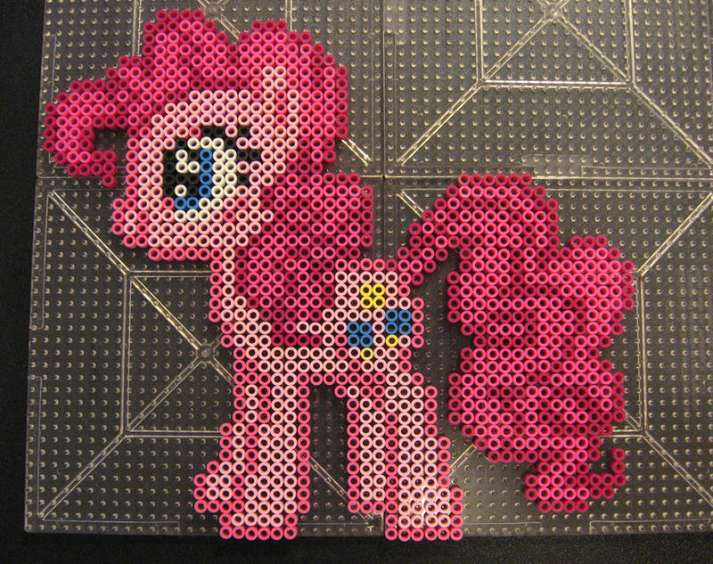 Pinkie Pie Perler1 by Flood7585