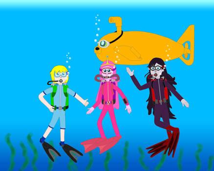 Adventure Dive Time Group Color