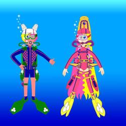 Adventure Dive Time AU Kids Scuba Color
