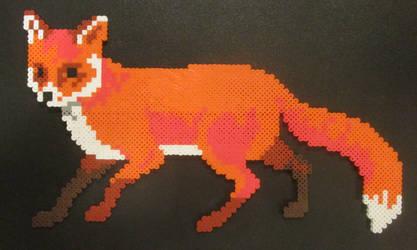 Red Fox Perler2