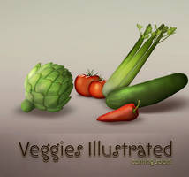 Veggies illustrated: Teaser by kevinandersson