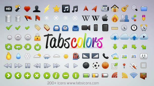 Tabs Colors by kevinandersson