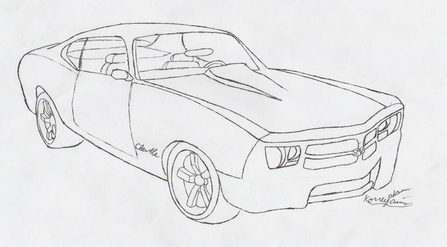 chevelle coloring pages - photo#33