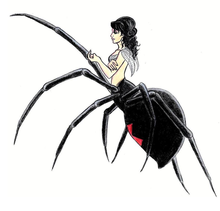 Ladies of the Web 1: Black Widow by EmbodimentOfWrath on DeviantArt