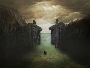 Les Statues by Janco13