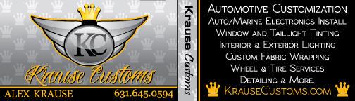 Krause Customs Business Cards