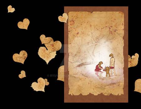 Art Calendar - Paper Hearts