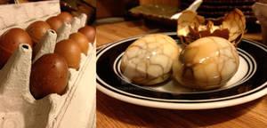 Edible Art - Marbled Tea Eggs