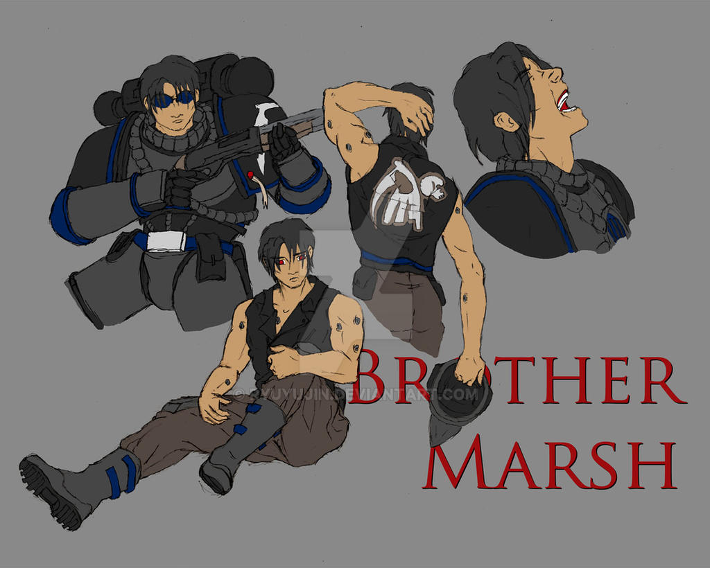 Brother Marsh Character Sheet 2
