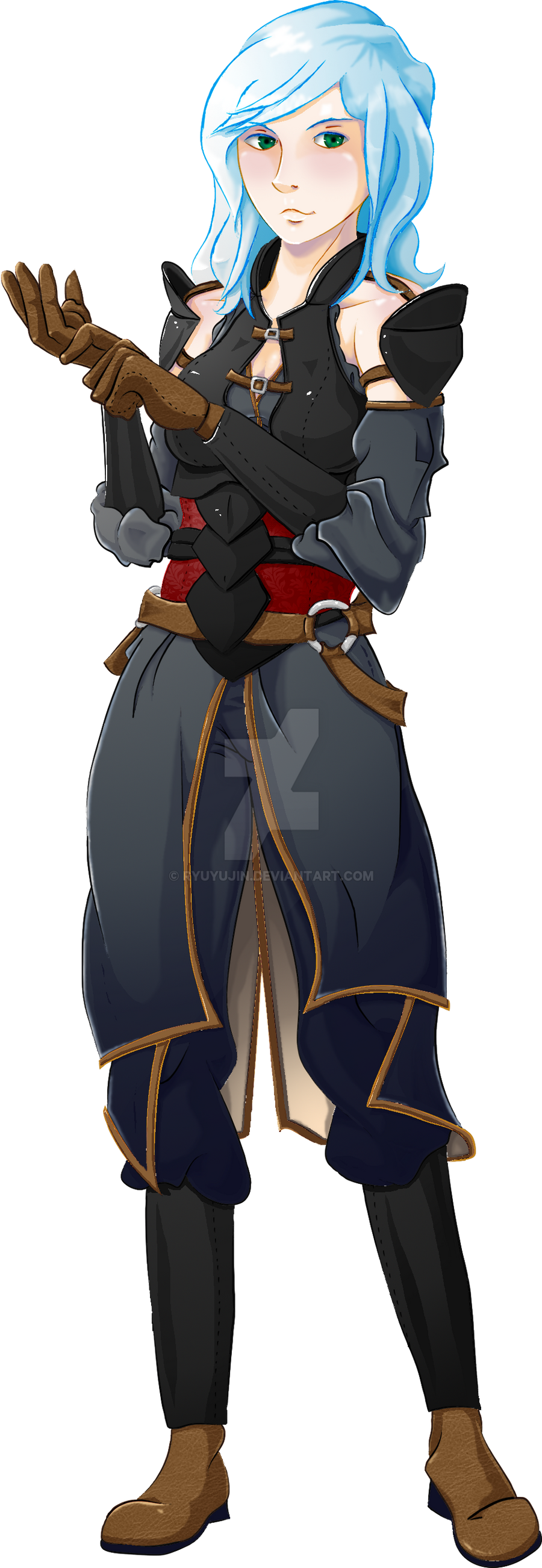 Lady Linda Magdalene - Armor Sprite