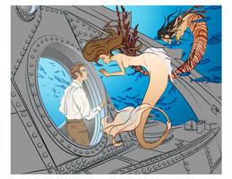 Steam Mermaids - Flats by Ryuyujin