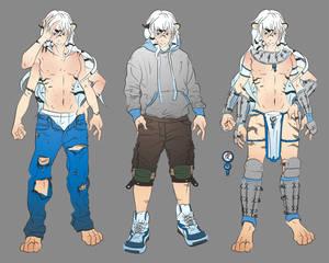 Rokuro Costume Study