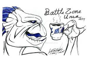 Battle Zone Ursa 2019 Sketch - Krootie