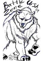 Battle Zone Ursa Bear Sketch 2019