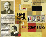 Schwitters Stamp Sheet