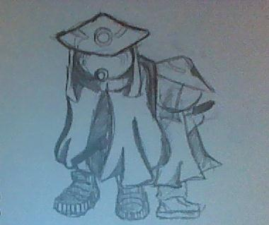 desertpunk rough sketch by Rocker5786