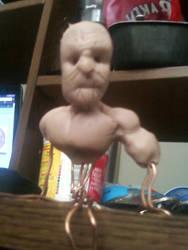 Creepy dude in progress