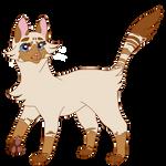 mothflutter // warrior cat oc