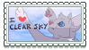 Clear Sky Stamp by Moothic