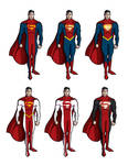 Superman costume redesign