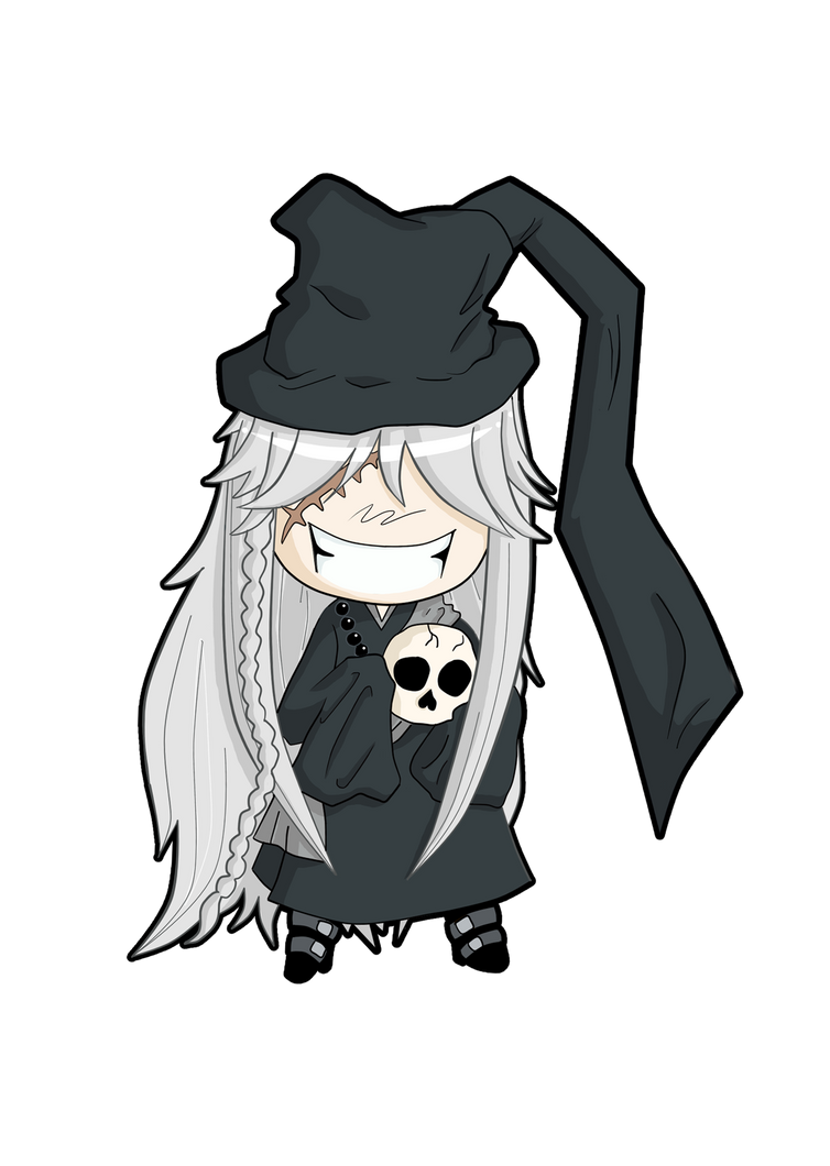 Undertaker Chibi By Jenysa971