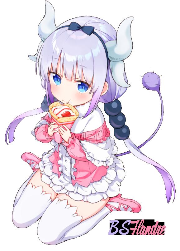 Anime Render (Kanna Kamui) by BSFlandre on DeviantArt