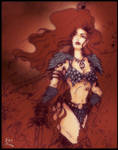 Red Sonja colored