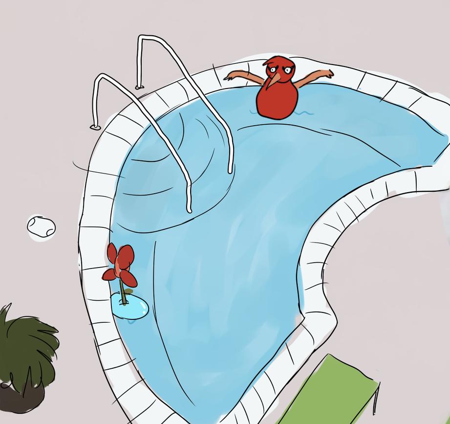 2 Bros Chillin In A Hot Tub 5 Feet Apart Cuz Gthey by ...