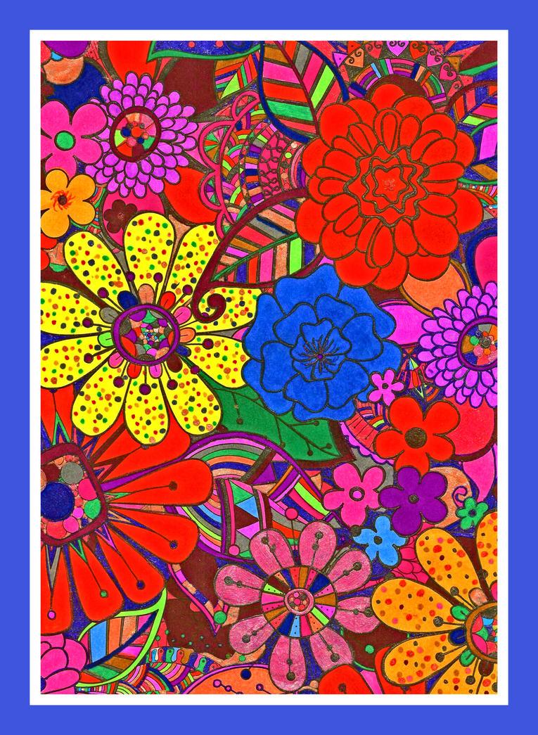 Bright Flowers! by DarknessCallsDawn