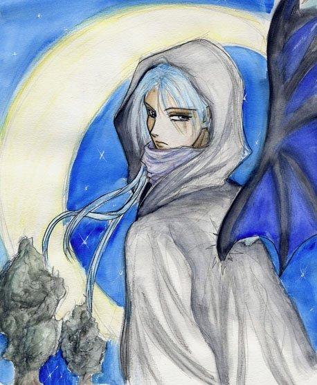 sketch - angel ? by harahel13