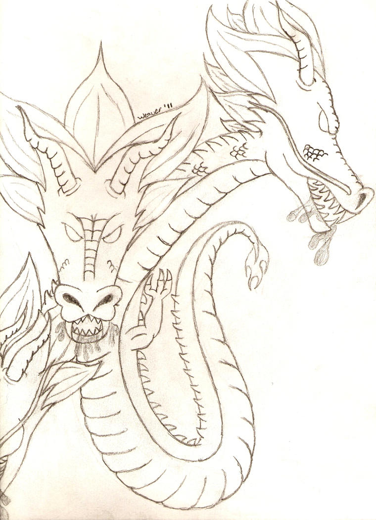 Meteo Drago Coloring Pages
