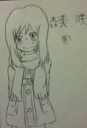 Morimi Saki by ritsutsu