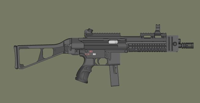 PDW Colt Prototype by GaZzVoy