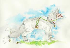 Akuma by whitew3r3wolf