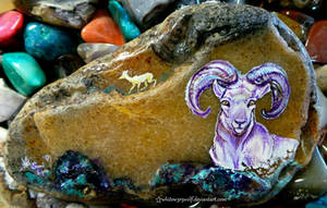 Bighorn Sheep by whitew3r3wolf