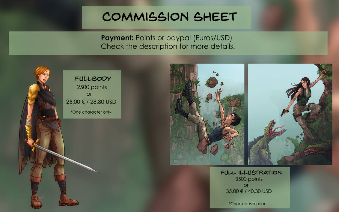 Commission Info - OPEN