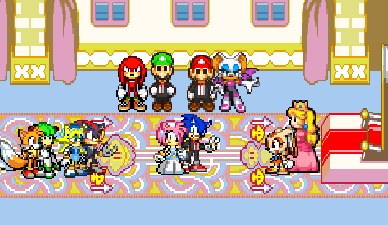 sonic and amy's wedding by supermasterchief99 on DeviantArtAmy And Sonic Wedding