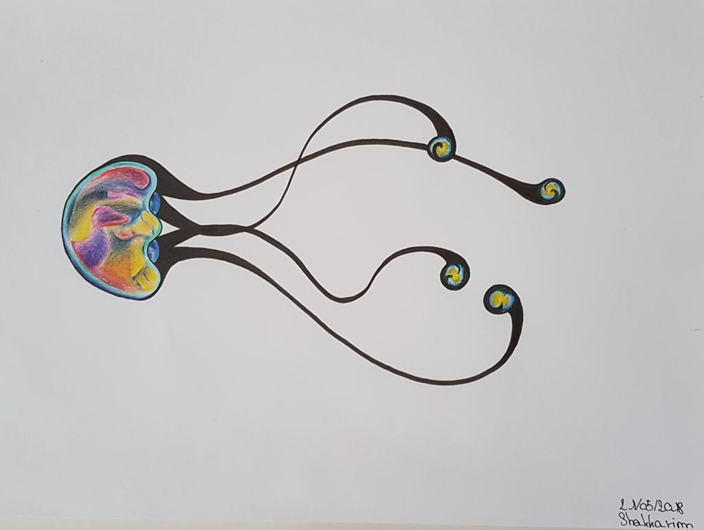 Pravaa'shi - Jellyfish aspect by Shakkarim