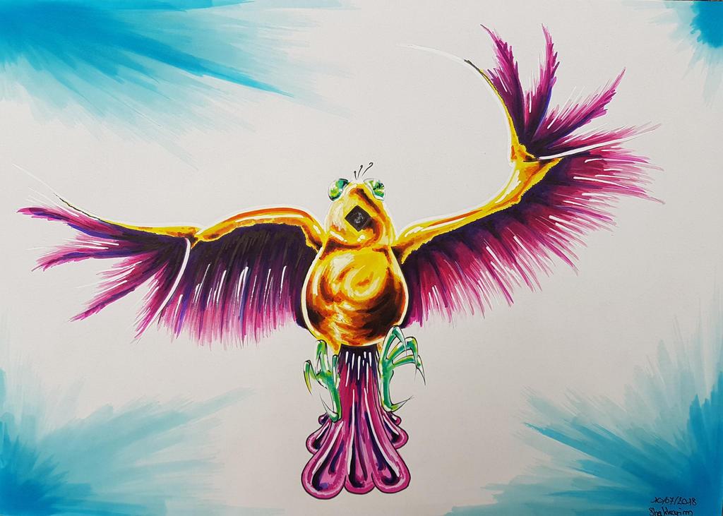 Pravaa'shi - Bird aspect by Shakkarim