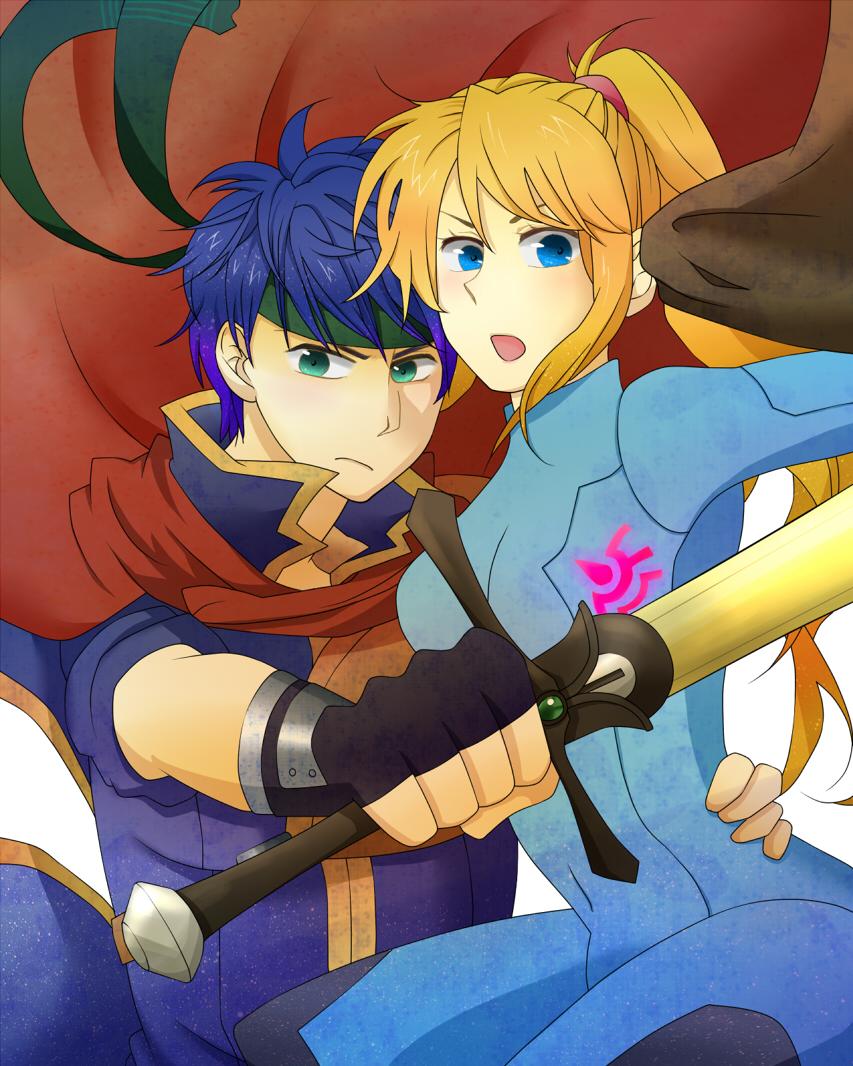 Ike and samus