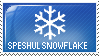 Speshul Snowflake Stamp by End--Quote