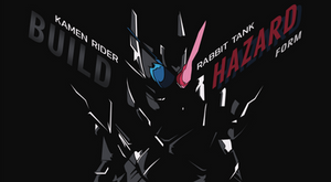 Kamen Rider Build Rabbit Tank Hazard Form by TMRYST
