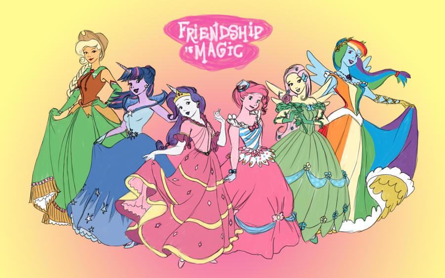 Princess Pony Gala Dresses by Aldriona