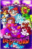 Nefarious Poster by hebitonetsu